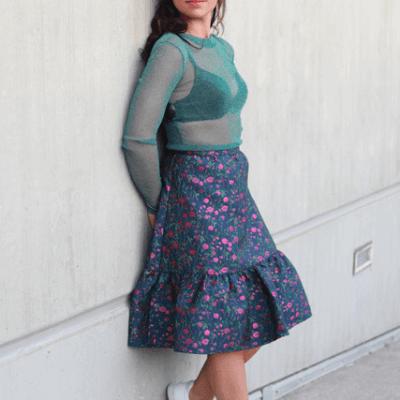 Eva Dew flowerskirt haly