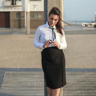 Eva Dew blouse Grace wit 2