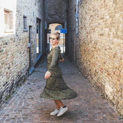Eva Dew kleding kleedje Milana