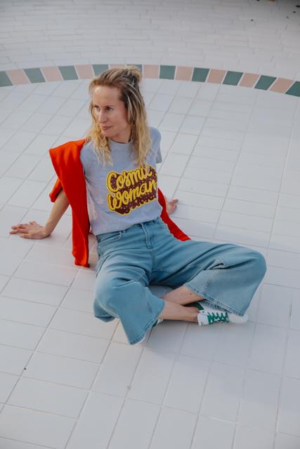 Eva Dew t-shirt Cosmic