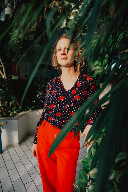 Eva Dew broek Leister
